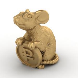 15-Мышка с монетой