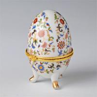 36301 Шкатулка-яйцо 4*8см