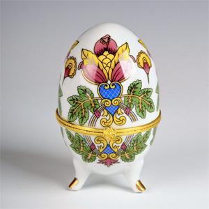 36310 Шкатулка-яйцо 6*9см