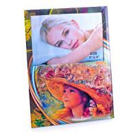 32305 Рамка для фото цв.стекло 15*10см