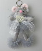 Брелок-игрушка Мышка 18 см L-41