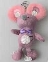 Брелок-игрушка Мышка 18 см L-44