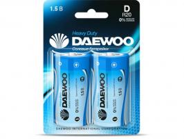 Бат.DAEWOO R20-2BL блистер (12)