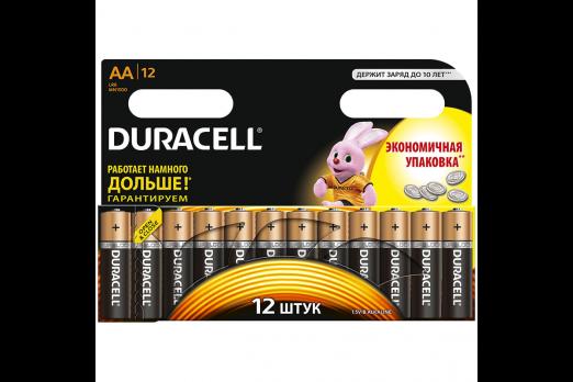 Бат.DURACELL LR6-12BL Basic (144)