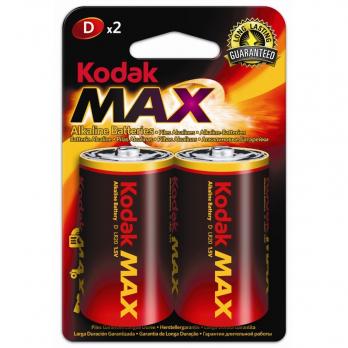 Бат.KODAK MAX LR20-2BL (20)