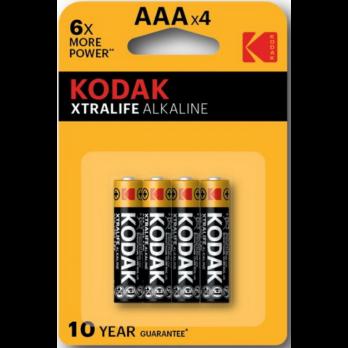Бат.KODAK МAX LR03-4BL XTRALIFE (40)