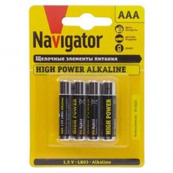 Бат.NAVIGATOR LR03-4BL (40)