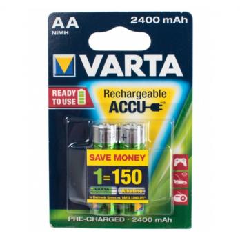 Бат.VARTA HR6-2BL (2400mAh) аккум.