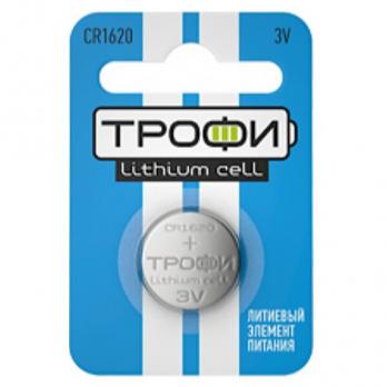 Бат.ТРОФИ CR1620-1BL (10)