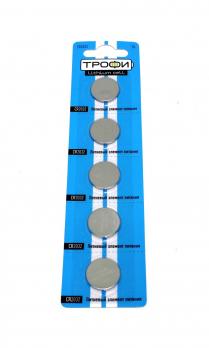 Бат.ТРОФИ CR2032-5BL (5)