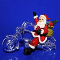AK 8212 Санта на мотоцикле 11,1*5,4*7,9см