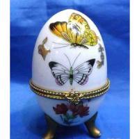 MML 14011 шкатулка-яйцо 4,7*7,5см