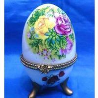 MML 14012 шкатулка-яйцо 4,7*7,5см