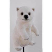 AHA 79100 белый медвежонок 6,2*6,2*10,2см