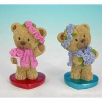 PLA 17411 медвежонок на сердце 4,7*4,2*7,4см