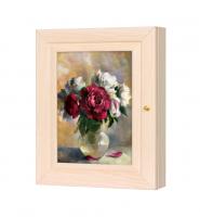Ключница Цветы (дуб молочный) в ассортименте 16*31 см