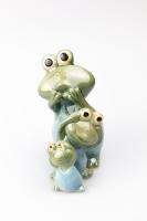 К9033 Семья Лягушек (набор 3 шт) керамика