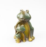 К9035 Семья Лягушек (набор 3 шт) керамика