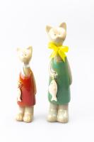 К9036 Декоративные Котики  (набор 2 шт) керамика