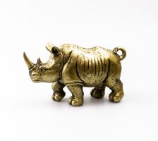 К8868 Декоративная фигура Носорог 21*13 см (полистоун)