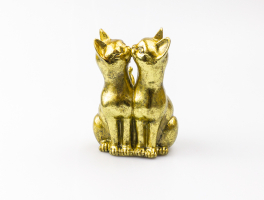 К8872 Фигурка декоративная Кошечки 12*15 см