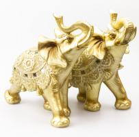 К8905 Слон декоративный 25 см (полистоун, 2 вида)