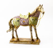 К8906 Конь декоративный 25 см (полистоун, 2 вида)