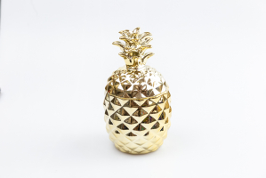 К9165-1 Шкатулка Ананас (керамика) 13*13*24,5 см