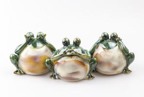 К8980 Лягушка декоративная 14*10*11 см (керамика)