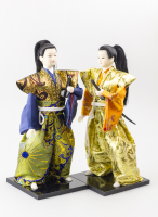 К9009 Декоративная фигура Самурай 29 см (цвета микс)