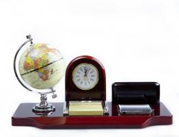 К9152 Настольный набор руководителя с глобусом 35*17*19,5 см