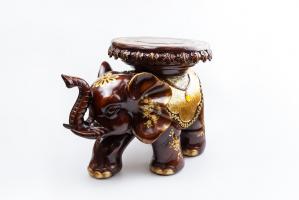 К8966 Слон-стул (полистоун) 31*45*28 см