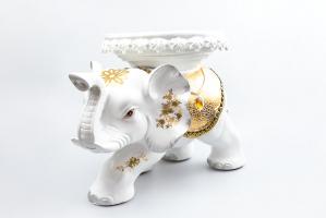К8966-1 Слон-стул (полистоун) 31*45*28 см