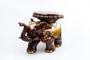 К8967 Слон-стул (полистоун) 35*43*27 см
