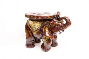 К8976 Слон стул 58*41*34 см (полистоун)