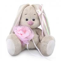 SidX-292 Зайка Ми c розовым цветком (малыш)