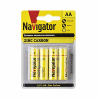 Элемент питания Navigator NBT-NS-R03-BP4 94 767