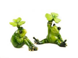 К5120 Декоративная лягушка (2) 10*10 см