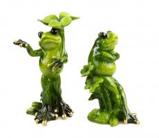 К5123 Декоративные лягушка (2) 15*9 см