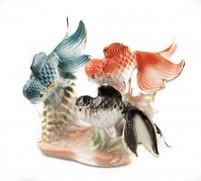 К9001 Фарфоровые рыбы 14*14 см