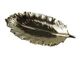 К9170 Тарелка декоративная ЛИСТОК 12*25 см (2)
