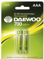 Аккумулятор DAEWOO R03 /( 700mAh) NI-MH BL-2