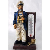 L 49612 (12) капитан с термометром 4,5*2,5*9,5см