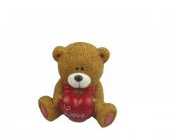 C 10498 копилка-медвежонок 12,5*9,5*11 см