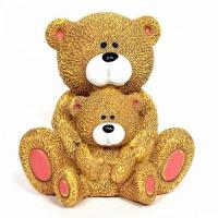 С 10499 копилка-медвежата 10*9,8*6 см