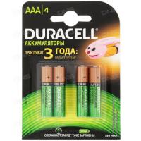Акк. батарея  Duracell HR03-4BL 750mAh