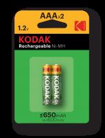Элемент питания  Kodak HR03-2BL 650mАh  [K3AHR-2/650mАh ]