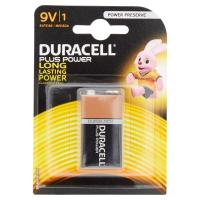 Элемент питания  Duracell 6LR61/6LF22/6LP3146 9V-1BL