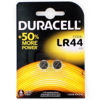 Элемент питания Duracell NEW LR44-2BL