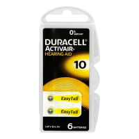 Батарейки  Duracell ZA10-6BL